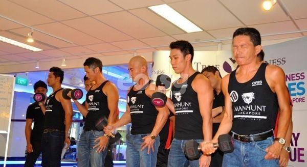 第25届新加坡猛男秀于9月份拉开帷幕