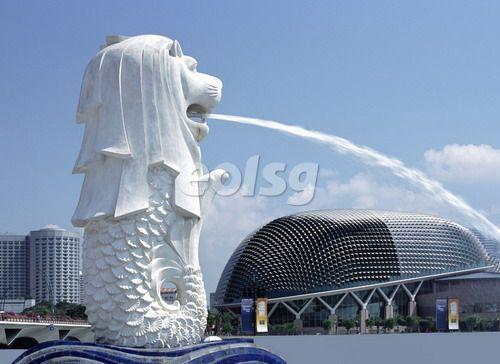 新加坡留学生活:不容错过的鱼尾狮公园